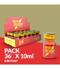 PACK WITH 36 SUPER RUSH 10ML