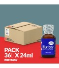 PACK WITH 36 BLUE BOY 24ML