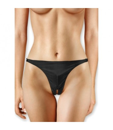 OUCH! PANTY WITH VIBRATING BULLET BLACK