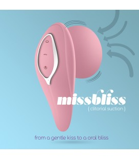 MISSBLISS RECHARGEABLE CLITORAL STIMULATOR CRUSHIOUS