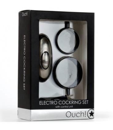 ELECTRO-ESTIMULADOR OUCH! ELECTRO COCKRING SET