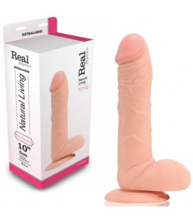 REAL RAPTURE SKY EMOTION REALISTIC DILDO 10'' WHITE