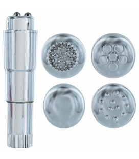 CANDY PIE SWEEPY VIBRATOR SILVER