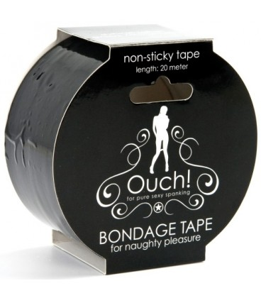CINTA OUCH! BONDAGE TAPE NEGRA
