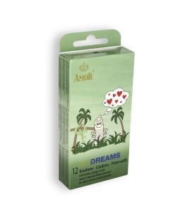 PRESERVATIVOS WILD DREAMS 12 UNIDADES