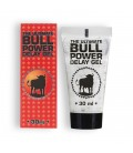 GEL RETARDANTE BULL POWER 30ML