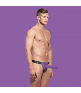 STRAP-ON OCO OUCH! HOLLOW TWISTED ROXO