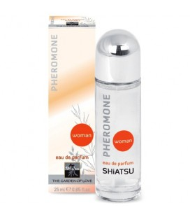PERFUME COM FEROMONAS PARA MULHER SHIATSU™ 25ML