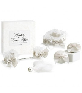 HAPPILY EVER AFTER BRIDAL KIT BIJOUX INDISCRETS WHITE