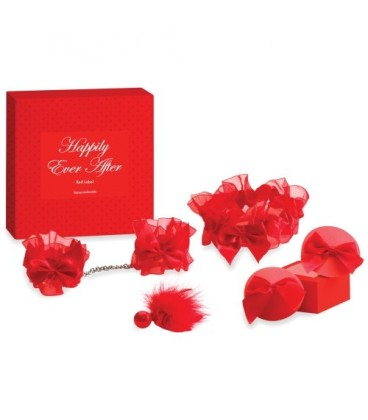 HAPPILY EVER AFTER BRIDAL KIT BIJOUX INDISCRETS RED