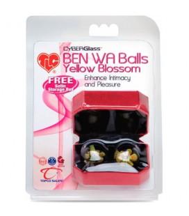 BEN WA CYBERGLASS BALLS YELLOW BLOSSOM