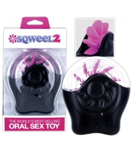 SQWEEL 2 ORAL SEX SIMULATOR BLACK