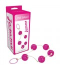 BOLAS ANALES LOVE BALLS JAMMY JELLY ANAL ROSA