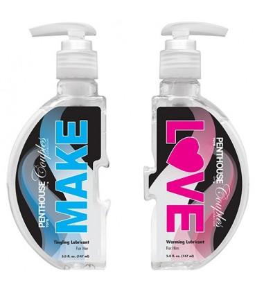 MAKE LOVE WATER BASED LUBE 2 x 148ML