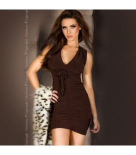 VERSATILE DRESS CR-3165 BROWN
