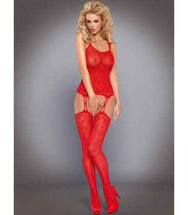 OBSESSIVE BODYSTOCKING F206 RED
