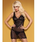OBSESSIVE EMPERITA CHEMISE AND THONG