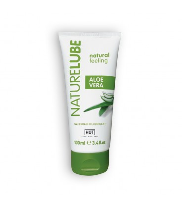 LUBRICANTE BASE ACUOSA NATURELUBE CON ALOE VERA 100ML