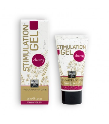 GEL ESTIMULANTE SHIATSU™ STIMULATION GEL CEREZA 30ML