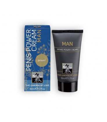 CREMA ESTIMULANTE MASCULINA SHIATSU™ PENIS POWER CREAM 50ML