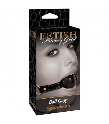 FETISH FANTASY GOLD BALL GAG