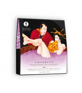 SAIS DE BANHO SHUNGA LOVE BATH SENSUAL LOTUS 650GR