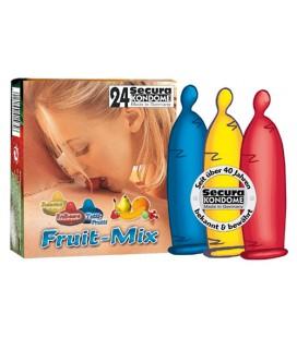 FRUIT MIX CONDOMS 24 UNITS