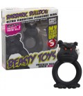 VIBRATING RING WITH LIGHT BEASTY TOYS BARBARIC BULLDOG