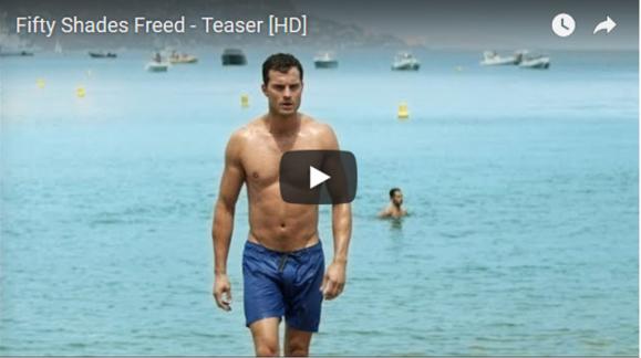 """Cinema Teaser do filme """"As 50 Sombras Livre"""" já saiu, e ficou viral em poucas horas..."""